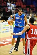 DESCRIZIONE : Biella Trofeo Angelico Raduno Collegiale Nazionale Maschile Amichevole Italia Giordania<br /> GIOCATORE : Andrea Cinciarini<br /> SQUADRA : Nazionale Italia Uomini<br /> EVENTO : Raduno Collegiale Nazionale Maschile Amichevole Italia Giordania<br /> GARA : Italia Giordania<br /> DATA : 18/06/2009 <br /> CATEGORIA : palleggio<br /> SPORT : Pallacanestro <br /> AUTORE : Agenzia Ciamillo-Castoria/G.Ciamillo