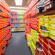 Rack Room Shoes Retail Store Retail Infrastructure- Architectural Photography Example of Chip Allen's work.