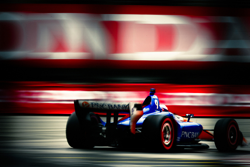 Scott Dixon, Chip Ganassi Racing Honda<br /> Saturday 14 July 2018<br /> Honda Indy Toronto<br /> Verizon IndyCar Series<br /> Streets of Toronto ON CAN<br /> World Copyright: Scott R LePage