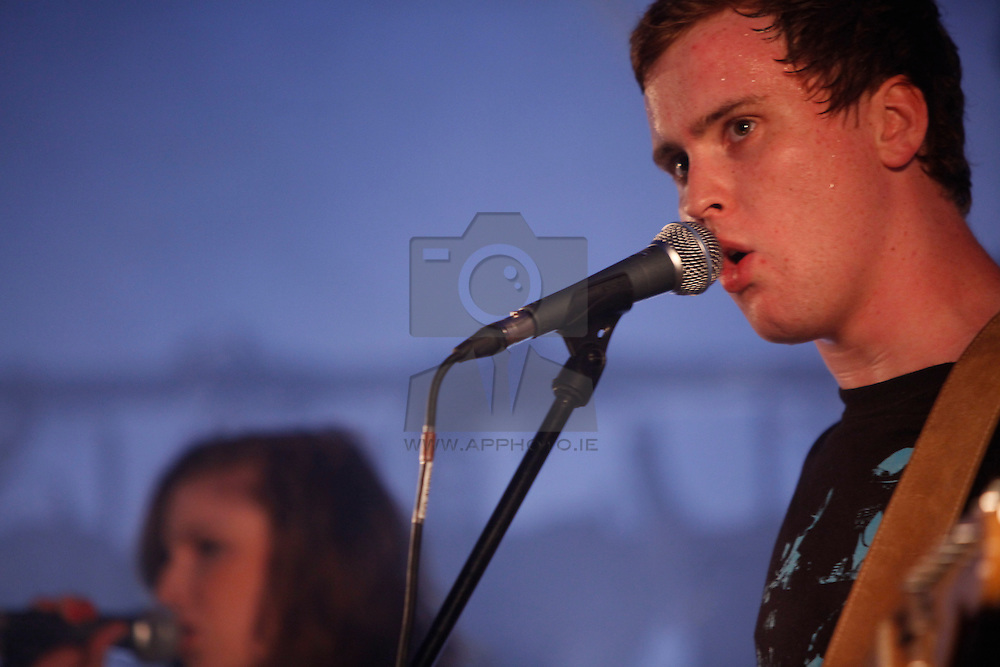 Heros in Hiding performing live at the Castle Palooza music festival 2010. Pic Andres Poveda