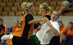 Nina Jericek of Olimpija at  handball game between women team RK Olimpija vs ZRK Brezice at 1st round of National Championship, on September 13, 2008, in Arena Tivoli, Ljubljana, Slovenija. (Photo by Vid Ponikvar / Sportal Images)