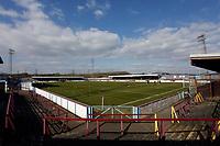 Weymouth FC 1-0 Stockport CountyFC. Vanarama National League. Bob Lucas Stadium. 6.3.21