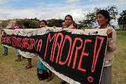 Monte Albán, Oaxaca, 12 de septiembre de 2011.<br /> Caravana al Sur, 2011. Movimiento por la Paz con Justicia y Dignidad. (Foto: Prometeo Lucero)