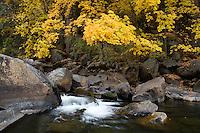 The Merced River, Yosemite National Park, CA.