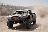 Jesse James trophy truck near mile 90, 2011 San Felipe Baja 250.  finished in 8th place