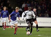 Fotball, 17. oktober 2004, Tippeligaen , Vålerenga - Sogndal 0-0,  Ayee Ahi Elvis, Sogndal