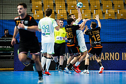 Dragan Gajic of Slovenia during Men's EHF EURO 2022 Qualifiers between national teams Slovenia and Netherlands in Arena Zlatorog, Celje, Slovenia on 10. January, 2021. Photo by Grega Valancic