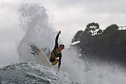29 April 2011: Noa Deane surfs at Snapper Rocks on the Gold Coast. Photo by Matt Roberts