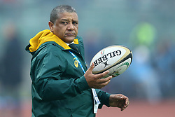November 25, 2017 - Padova, Italy - South Africa coach Allister Coetzee during the Rugby test match between Italy and South Africa at Plebiscito Stadium in Padova, Italy on November 25, 2017. (Credit Image: © Matteo Ciambelli/NurPhoto via ZUMA Press)