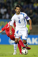 FOOTBALL - UEFA EURO 2012 - QUALIFYING - GROUP D - LUXEMBOURG v BOSNIA - 3/09/2010 - PHOTO ERIC BRETAGNON / DPPI - EMIR SPAHIC (BOS)