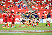 Japan team group (JPN), APRIL 17, 2016 - Rugby : HSBC Sevens World Series, Singapore Sevens match Japan and Russia at National Stadium in Singapore. (Photo by Haruhiko Otsuka/AFLO)
