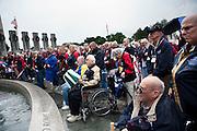 World War II and Korean War Veterans tour the monuments in Washington DC with Beloit organization, VetsRoll, on May 18, 2011.