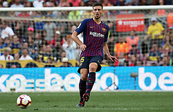 August 15, 2018 - Barcelona, Spain - Clement Lenglet during the match between FC Barcelona and C.A. Boca Juniors, corresponding to the Joan Gamper trophy, played at the Camp Nou, on 15th August, 2018, in Barcelona, Spain. (Credit Image: © Joan Valls/NurPhoto via ZUMA Press)