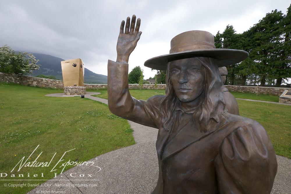 Addergoole, Titanic Memorial Park in Lahardane, Ireland