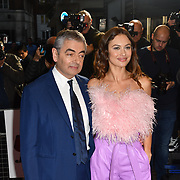 Rowan Atkinson and Olga Kurylenko attend Johnny English Strikes Again at CURZON MAYFAIR, London, Uk. 3 October 2018.