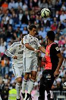 Real Madrid´s Chicharito during 2014-15 La Liga match between Real Madrid and Almeria at Santiago Bernabeu stadium in Madrid, Spain. April 29, 2015. (ALTERPHOTOS/Luis Fernandez)