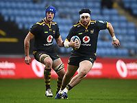 Rugby Union - 2020 / 2021 Gallagher Premiership - Wasps vs Exeter Chiefs - Ricoh Stradium<br /> <br /> Wasps' Jeff Toomaga-Allen in action during this afternoon's game<br /> <br /> COLORSPORT/ASHLEY WESTERN