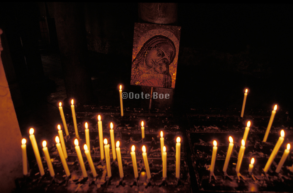 shrine to the Virgin Mary