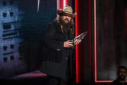 52nd Annual Country Music Association Awards hosted by Carrie Underwood and Brad Paisley and held at the Bridgestone Arena on November 14, 2018, in Nashville, TN. © Curtis Hilbun / AFF-USA.com. 14 Nov 2018 Pictured: Chris Stapleton. Photo credit: Curtis Hilbun / AFF-USA.com / MEGA TheMegaAgency.com +1 888 505 6342