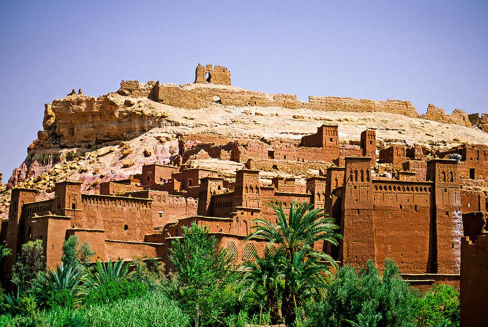 Kasbahs, Ait-Benhaddou, near Ouarzazate, Morocco