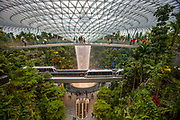 Singapore Airport, Jewel Terminal with shopping and restaurants