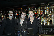 Halloween party at Raffles. King's Rd. London. 31 October 2007. -DO NOT ARCHIVE-© Copyright Photograph by Dafydd Jones. 248 Clapham Rd. London SW9 0PZ. Tel 0207 820 0771. www.dafjones.com.