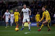 Joe Ward of Peterborough United during the EFL Sky Bet League 1 match between Oxford United and Peterborough United at the Kassam Stadium, Oxford, England on 16 February 2019.