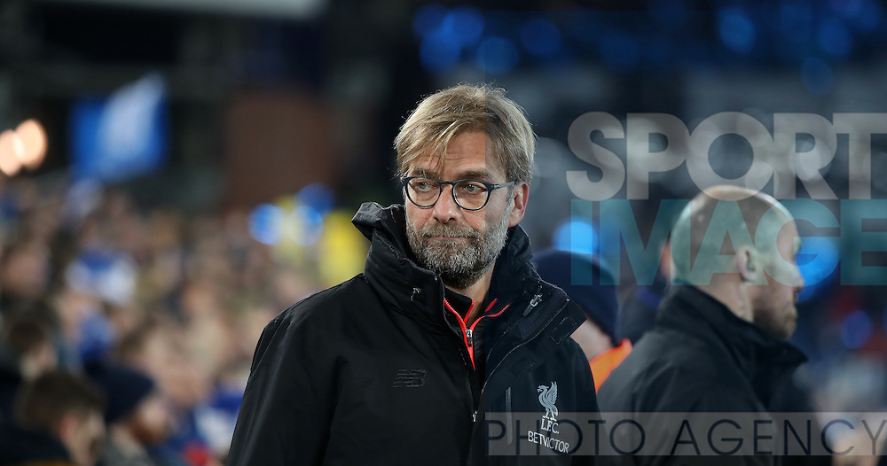 Jurgen Klopp manager of Liverpool before the English Premier League match at Goodison Park, Liverpool. Picture date: December 19th, 2016. Photo credit should read: Lynne Cameron/Sportimage