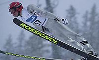 20011201 LILLEHAMMER: World Cup Nordic Combined. verdenscup kombinert. Sampa Lajunen, Finland.