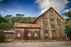 Fachada de casa antiga na colônia italiana da Serra Gaúcha, no Município de Nova Pádua. FOTO: Jefferson Bernardes/Preview.com
