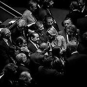 Silvio Berlusconi al Senato della Repubblica durante l'esame della mozione di sfiducia nei confronti del ministro dell'Interno. Roma, 19 luglio 2013. Christian Mantuano / OneShot<br /> <br /> Silvio Berlusconi during a plenary session for the discussion of a no confidence motion against Interior Minister and Deputy Premier, at the Senate. Rome, 19 July 2013. Christian Mantuano / OneShot