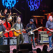 COLUMBIA, MD - May 14, 2015 - Bob Weir (third from left) performs with Los Lobos during the Dear Jerry: Celebrating the Music of Jerry Garcia concert at Merriweather Post Pavilion in Columbia, MD. (Photo by Kyle Gustafson / For The Washington Post)