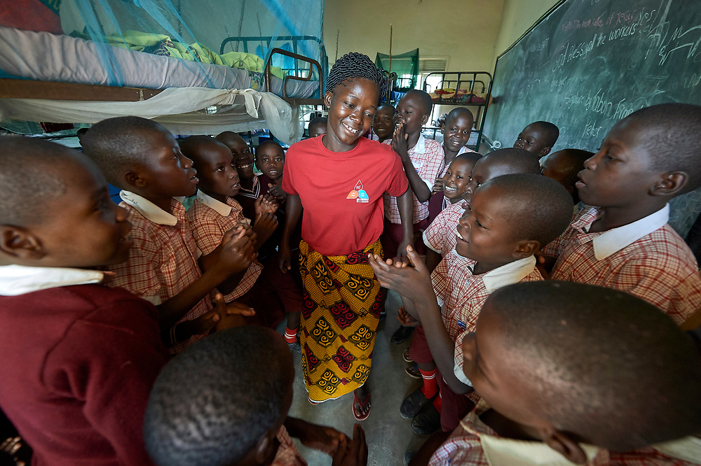 Madeline Louis is matron for boys in the Our Lady of Assumption School run by the Christian Brothers near a camp for internally displaced persons in Riimenze, South Sudan. Louis is a graduate of the Solidarity Teacher Training College in Yambio.