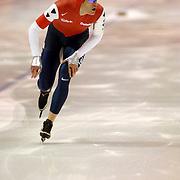 NLD/Heerenveen/20060122 - WK Sprint 2006, 2de 500 meter heren, Jan Bos