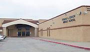 Edison Middle School, April 18, 2013. The school was part of the 2007 bond.