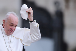 March 27,  2019  - Vatican City, Holy See - POPE FRANCIS during the Wednesday General Audience in St. Peter's Square at the Vatican.  (Credit Image: © Evandro Inetti/ZUMA Wire)