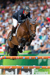 Patrice Delaveau, (FRA), Orient Express HDC - World Champions, - Second Round Team Competition - Alltech FEI World Equestrian Games™ 2014 - Normandy, France.<br /> © Hippo Foto Team - Leanjo De Koster<br /> 25/06/14