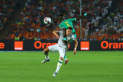 July 20, 2019 - Cairo, Egypt - Algeria's Ismael Bennacer and Senegal Idrissa Gueye in Actionduring the Final of 2019 African Cup of Nations match between Algeria and Senegal at the Cairo stadium on July 19,2019.  (Credit Image: RealTime Images)