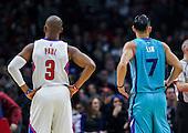 Basketball: 20160109 NBA: Los Angeles Clippers vs Charlotte Hornets