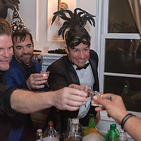 NYE Party at Dan's home in Studio City. Photo by Willy Sanjuan. Instagram: @willysanjuan