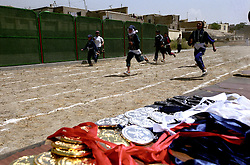 SPECIAL OLYMPICS AFGHANISTAN..KABUL 24 August 2005..Bagh-e-Zanana, girls games. ..The 25 meters