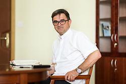 Portrait of prof. dr. Maksimilijan Matjaz, bishop of Celje  on July 1, 2021 in Celje, Slovenia. Photo by Vid Ponikvar / Sportida