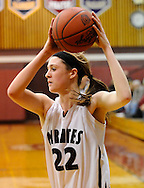 The Rocky River girls varsity basketball team defeated Avon in a West Shore Conference game on February 4, 2011.