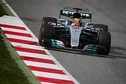 March 7-10, 2017: Circuit de Catalunya. Lewis Hamilton (GBR), Mercedes AMG Petronas Motorsport, F1 W08