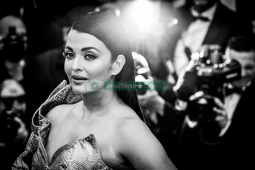 """""""A Hidden Life (Une Vie Cachée)"""" Red Carpet - The 72nd Annual Cannes Film Festival. 19 May 2019 Pictured: Aishwarya Rai. Photo credit: Daniele Cifalà / MEGA TheMegaAgency.com +1 888 505 6342"""