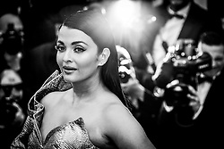 """A Hidden Life (Une Vie Cachée)"" Red Carpet - The 72nd Annual Cannes Film Festival. 19 May 2019 Pictured: Aishwarya Rai. Photo credit: Daniele Cifalà / MEGA TheMegaAgency.com +1 888 505 6342"