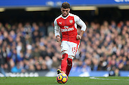 Alex Oxlade-Chamberlain of Arsenal in action. Premier league match, Chelsea v Arsenal at Stamford Bridge in London on Saturday 4th February 2017.<br /> pic by John Patrick Fletcher, Andrew Orchard sports photography.