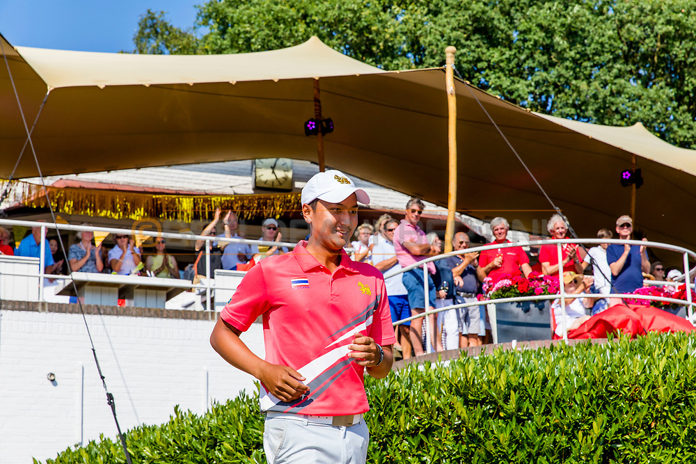 21-07-2018 Pictures of the final day of the Zwitserleven Dutch Junior Open at the Toxandria Golf Club in The Netherlands.21-07-2018 Pictures of the final day of the Zwitserleven Dutch Junior Open at the Toxandria Golf Club in The Netherlands.  Winner KAEWKANJANA, Sadom (TH)