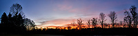 Backyard Autumn Clouds at Dawn. Composite of 5 images taken with a Nikon Df camera and 28 mm f/1.8 lens (ISO 100, 28 mm, f/1.8, 1/60 sec). Raw images processed with Capture One Pro, and the composite produced with AutoPano Giga Pro.