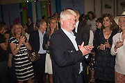 STANLEY JOHNSON, Rachel Johnson book launch of Fresh Hell, Acklam Village Market, Acklam Rd. London W10.